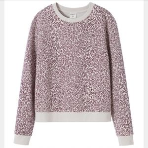 Morris & Co. H&M Lily Leaf Crewneck Sweatshirt